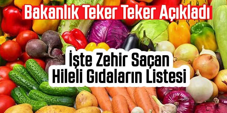 Tarım Bakanlığının listesinde 6 Konya firması var