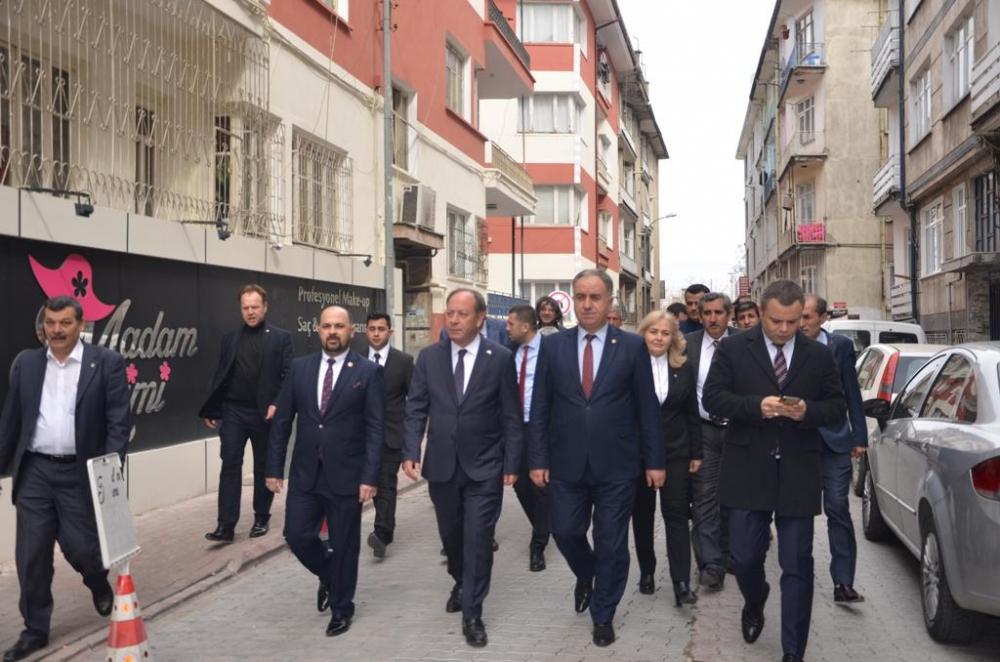 Başkan Oprukçu Konya'da Cumhur İttifakı'nın paydaşlarıyla 1