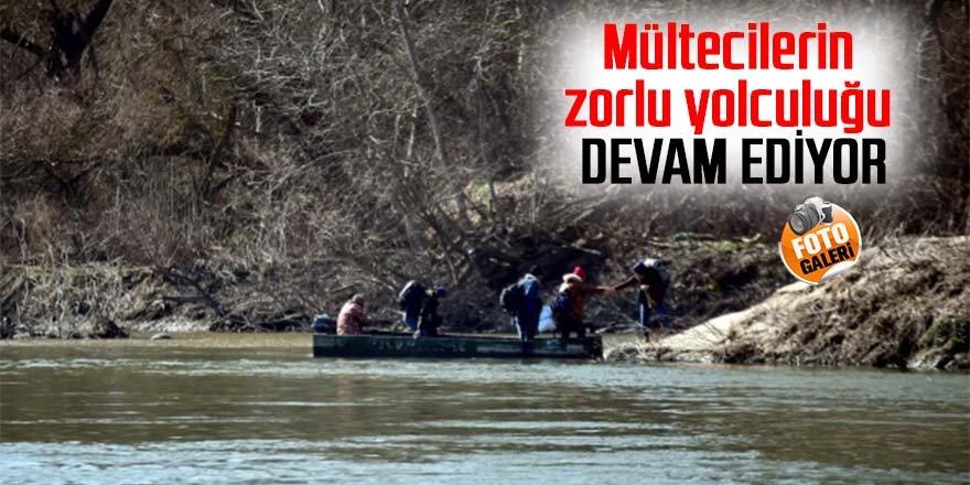Mültecilerin zorlu yolculuğu devam ediyor