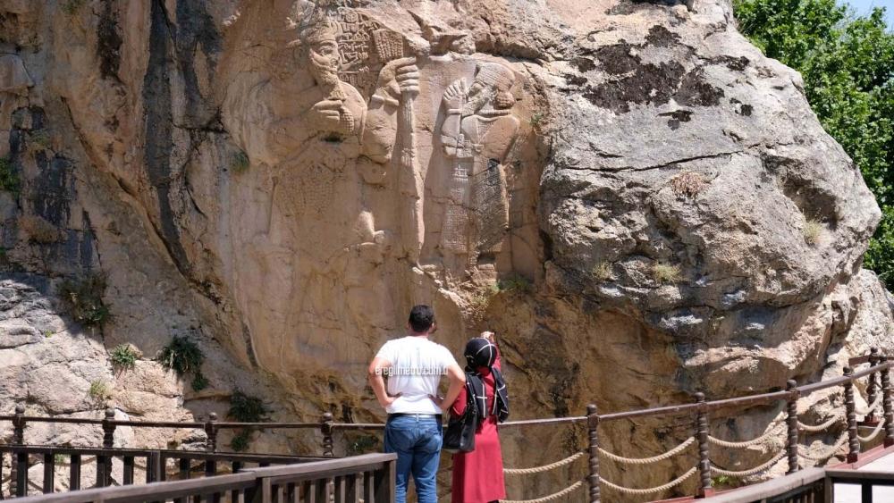 UNESCO listesindeki İvriz Kaya Anıtı, hayran bırakıyor 1