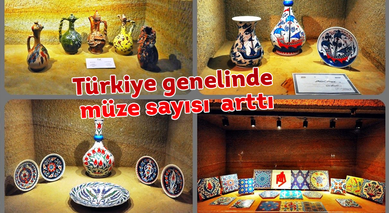 Türkiye genelinde müze sayısı %2 arttı