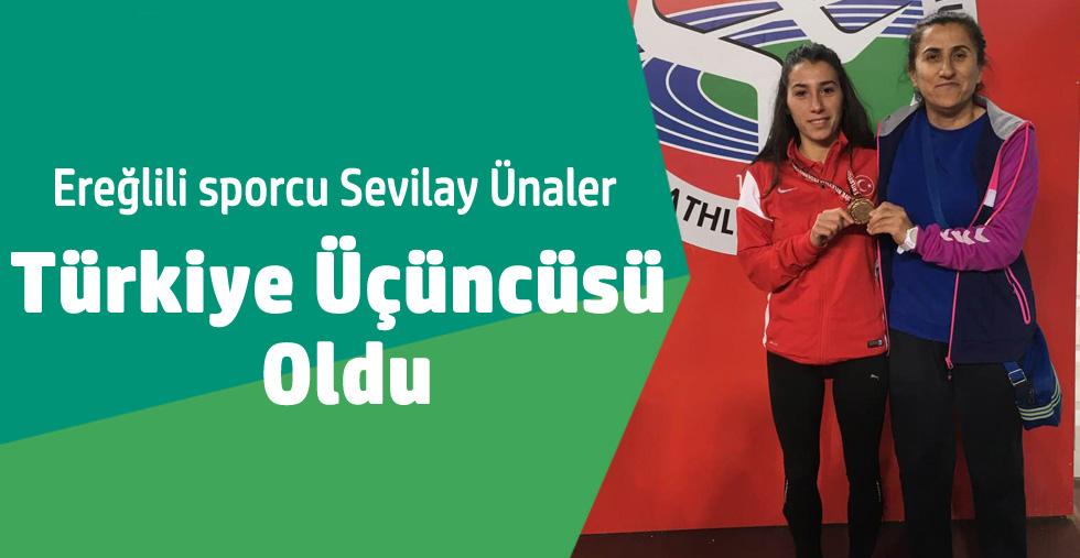 ÜNALER Türkiye Üçüncüsü Oldu