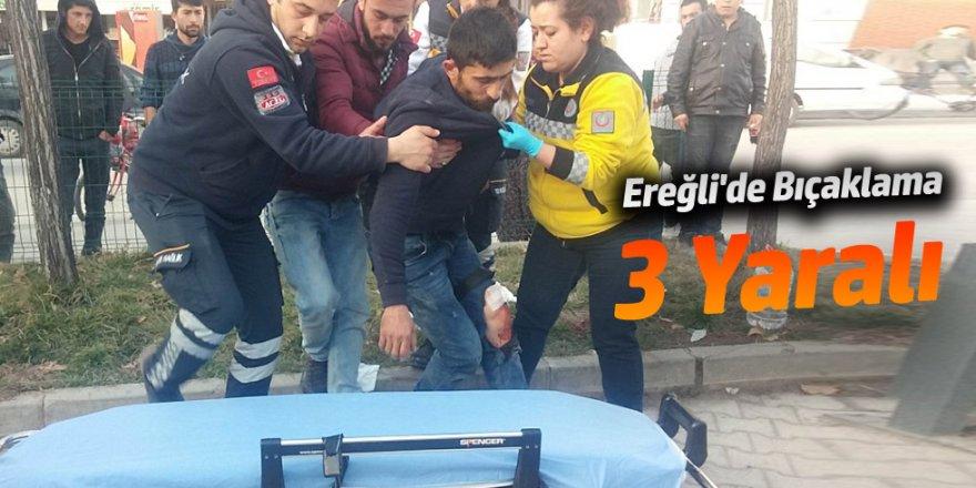 Ereğli'de Bıçaklama 3 Yaralı