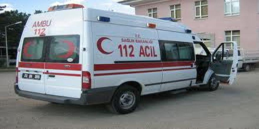 Emirgazi'de Yürek Burkan Kaza