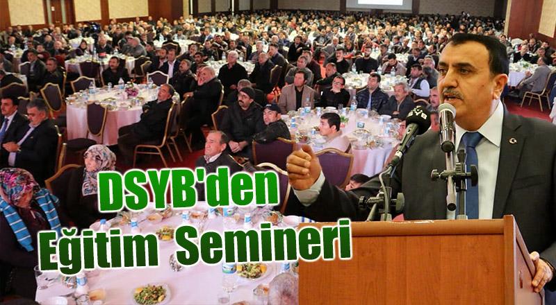 DSYB'den  Eğitim  Semineri