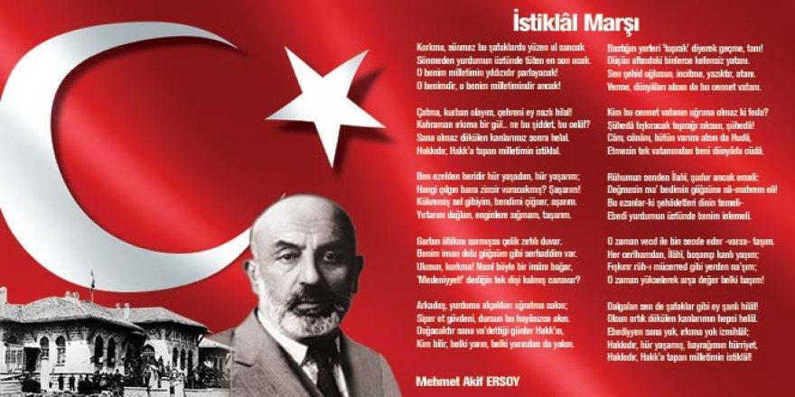 İstiklal Marşı, Büyük Kahramanlıkların Eşsiz Dizelerle Tezahürüdür