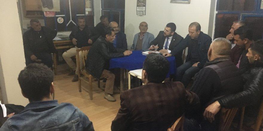 MHP İlçe Teşkilatı Mahalle Ziyaretleri Devam Ediyor
