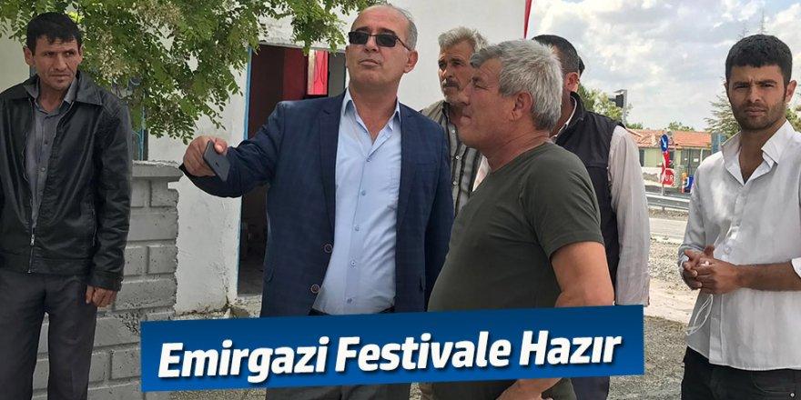 EMİRGAZİ FESTİVALE HAZIR