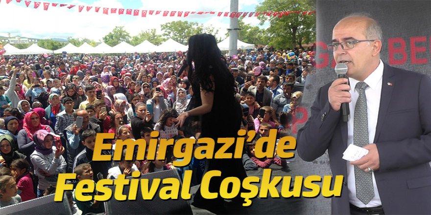 EMİRGAZİ'DE FESTİVAL COŞKUSU