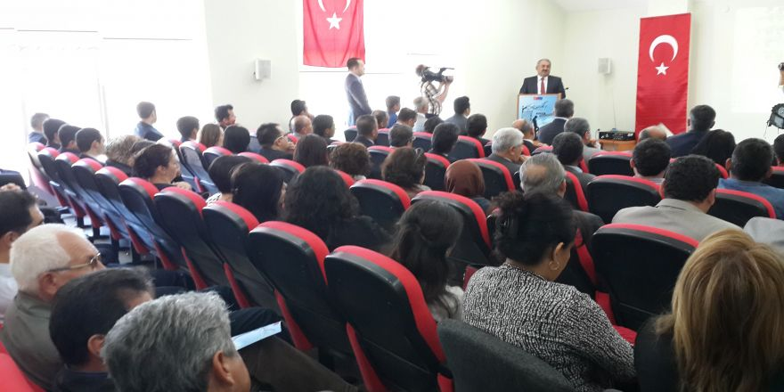 Halil ETYEMEZ  proje tanıtım programa Katıldı.