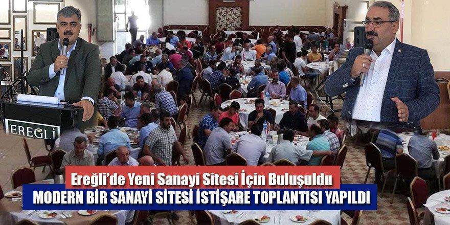 Ereğli'de Yeni Sanayi Sitesi İçin Buluşuldu