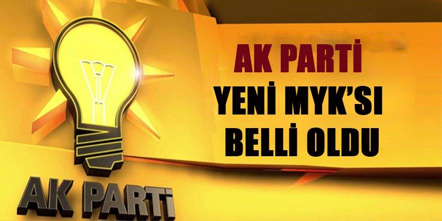 AK Parti'nin yeni Merkez Karar Yürütme Kurulu (MKYK) belli oldu