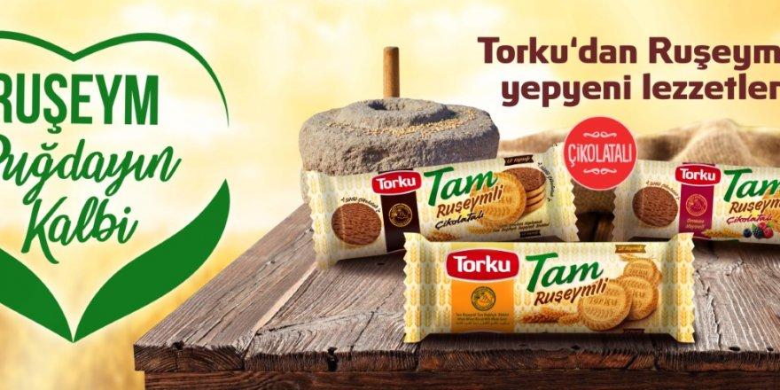 TORKU'DAN TÜRKİYE'NİN İLK RUŞEYMLİ BİSKÜVİSİ