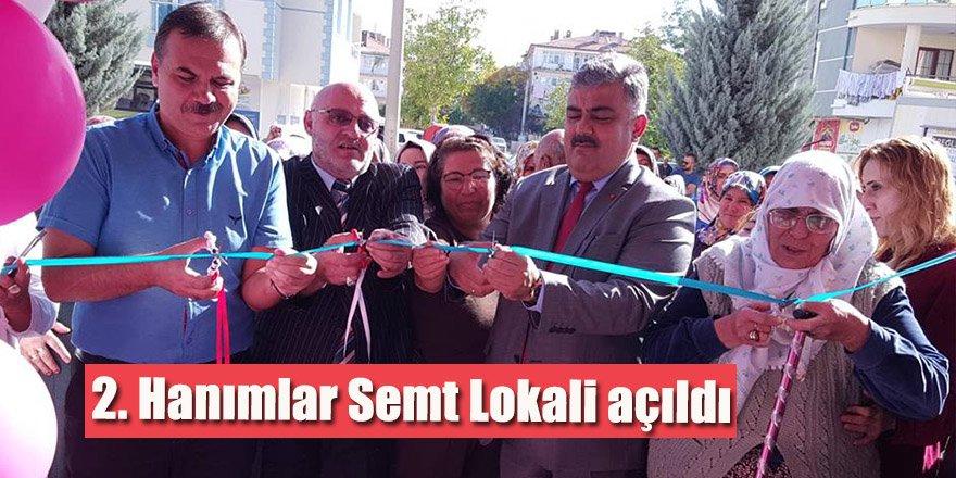 2. Hanımlar Semt Lokali açıldı