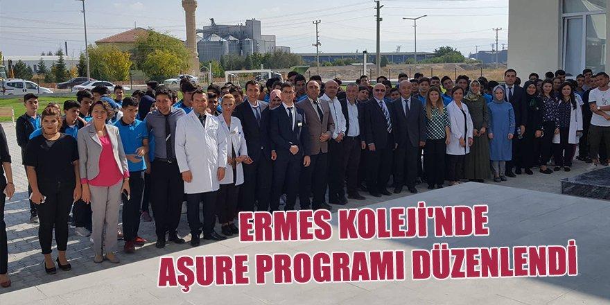 Ermes Koleji'nde Aşure Programı Düzenlendi