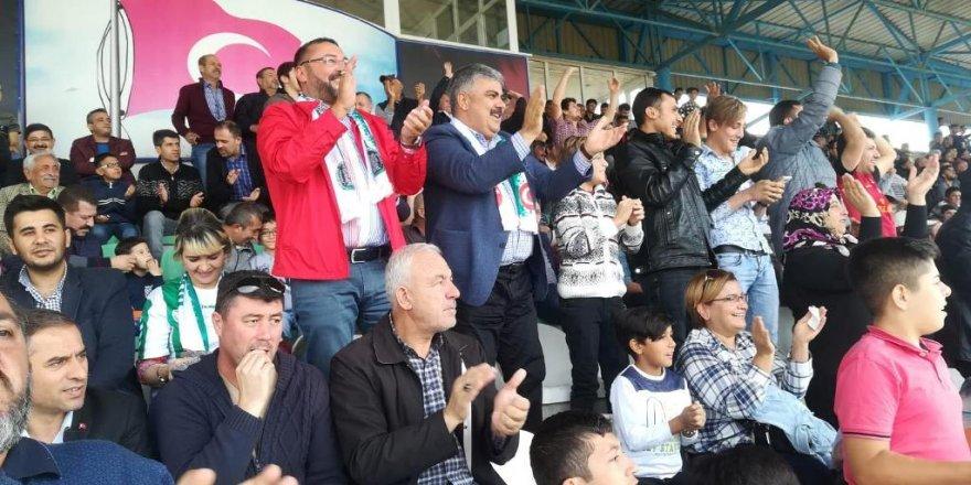 Başkan Özgüven'den Ereğlispor'a Tebrik