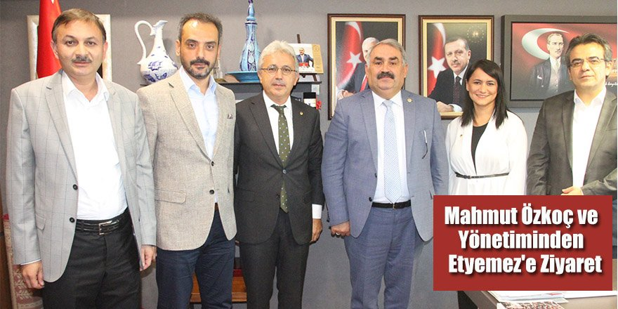 Mahmut Özkoç ve Yönetiminden Etyemez'e Ziyaret
