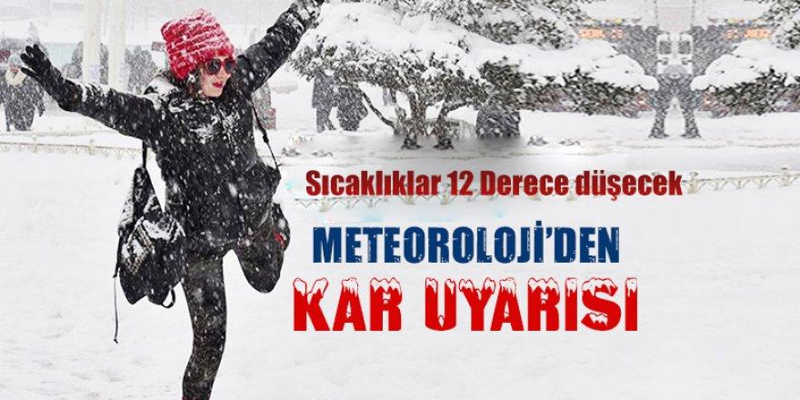 Meteoroloji'den  Kar Uyarısı...!