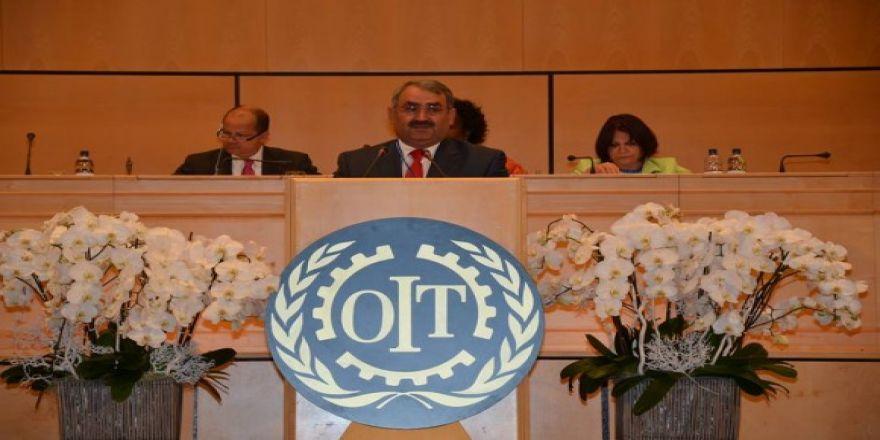 ETYEMEZ CENEVRE DE İLO Genel Kuruluna Katıldı.