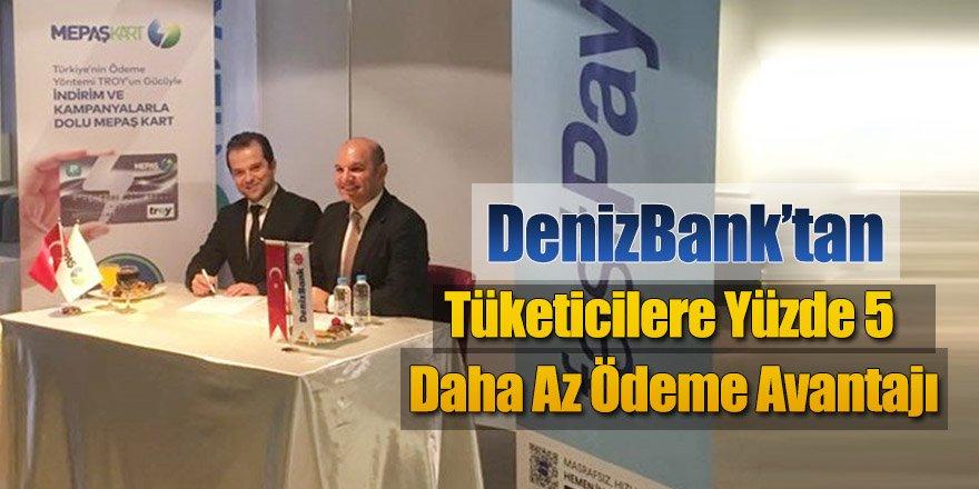 DenizBank'tan elektrik faturası ödemelerinde yüzde 5 indirim avantajı