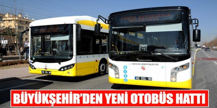 Büyükşehir'den Yeni Otobüs Hattı.