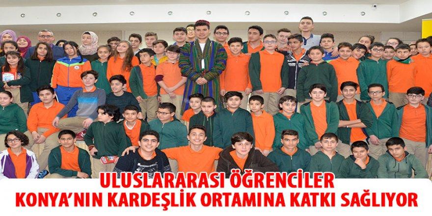Uluslararası Öğrenciler Konya'nın Kardeşlik Ortamına Katkı Sağlıyor.