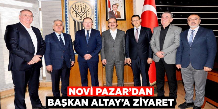 Novi Pazar'dan Başkan Altay'a Ziyaret.