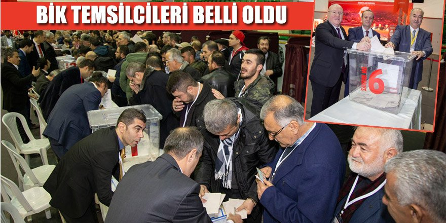 Anadolu Gazete Sahiplerinin  Bik Temsilcileri Belli Oldu