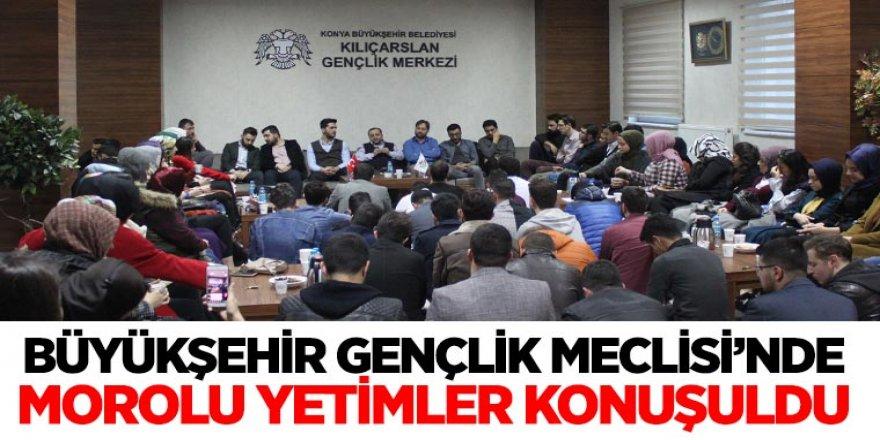 Büyükşehir Gençlik Meclisi'nde Morolu Yetimler Konuşuldu