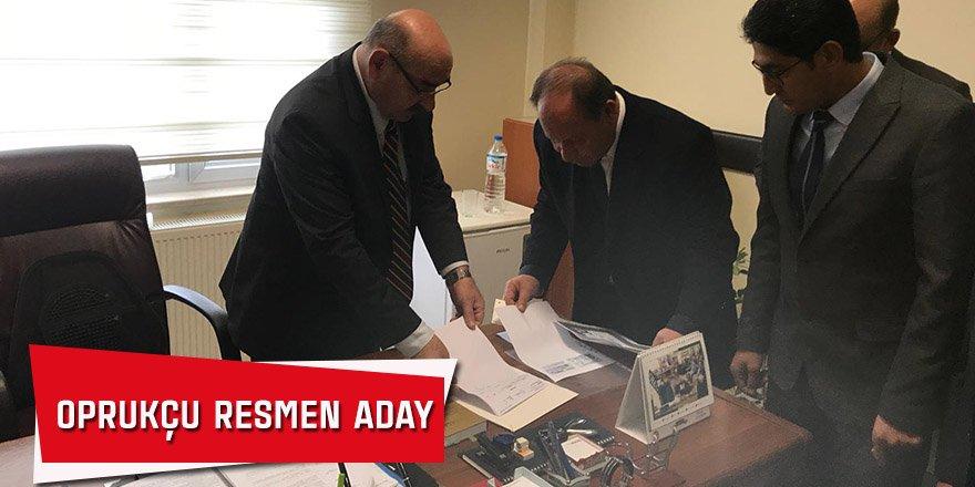 Oprukçu Resmen Aday