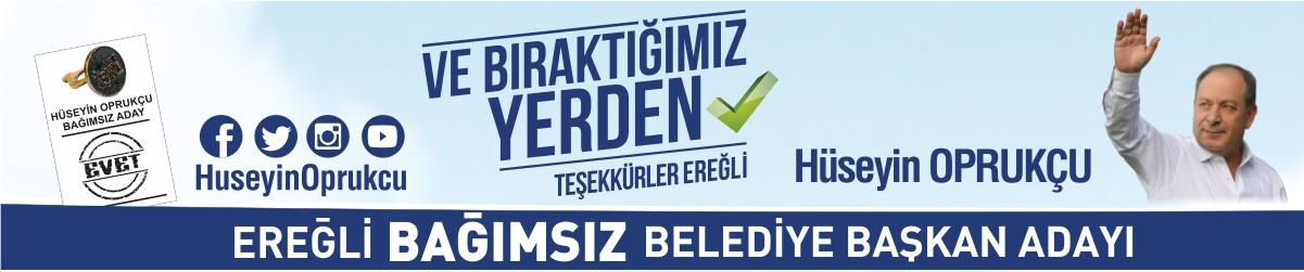Bağımsız Belediye Başkan Adayı Hüseyin Oprukçu