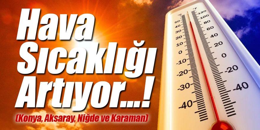 Hava Sıcaklığı Artıyor...!