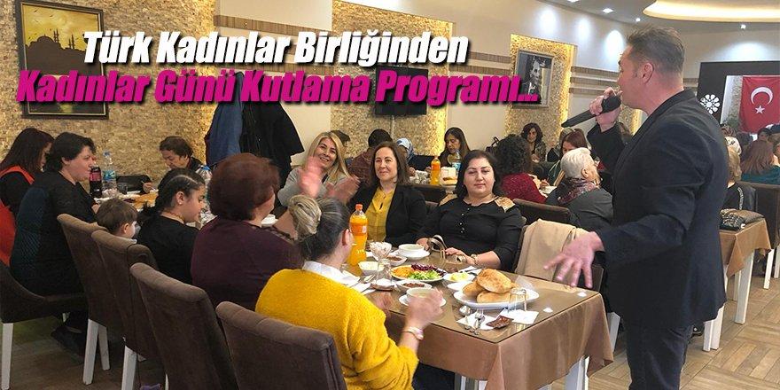 Ereğli Türk Kadınlar Birliğinden Kadınlar Günü Programı