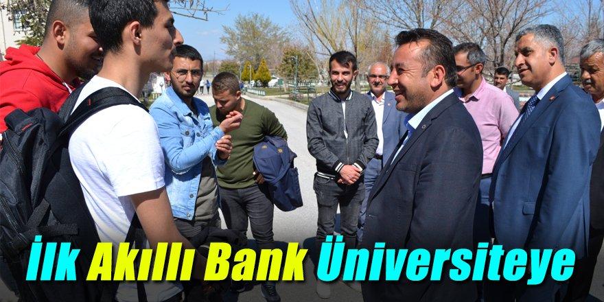 İlk Akıllı Bank Üniversiteye