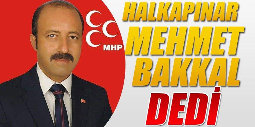 Halkapınar'da Cumhur İttifakı MHP adayı Mehmet Bakkal Kazandı