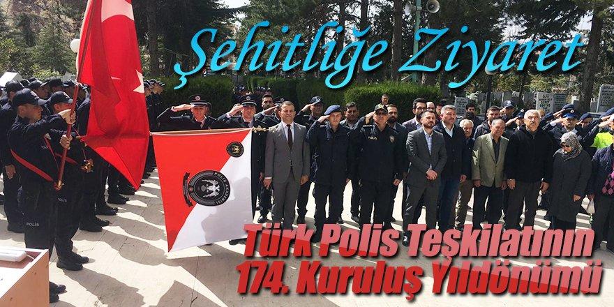 Ereğli'de polislerden şehitlik ziyareti