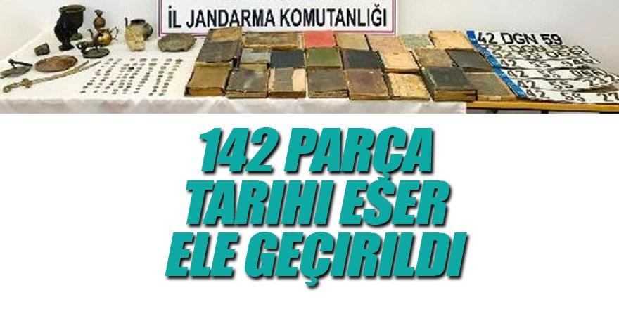 Eve Düzenlenen Operasyonda 142 Parça Tarihi Eser Ele Geçirildi
