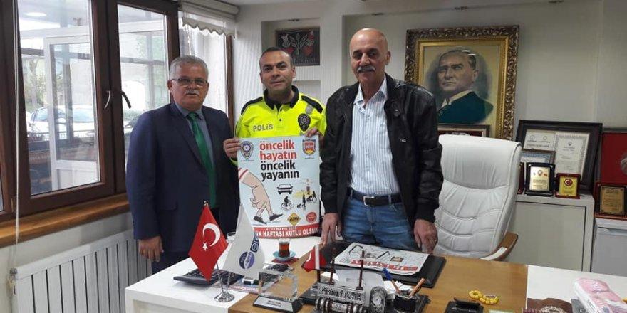 Başkan Yalçın Bozkır'dan ''Öncelik Hayatın Öncelik Yayanın'' kampanyasına destek