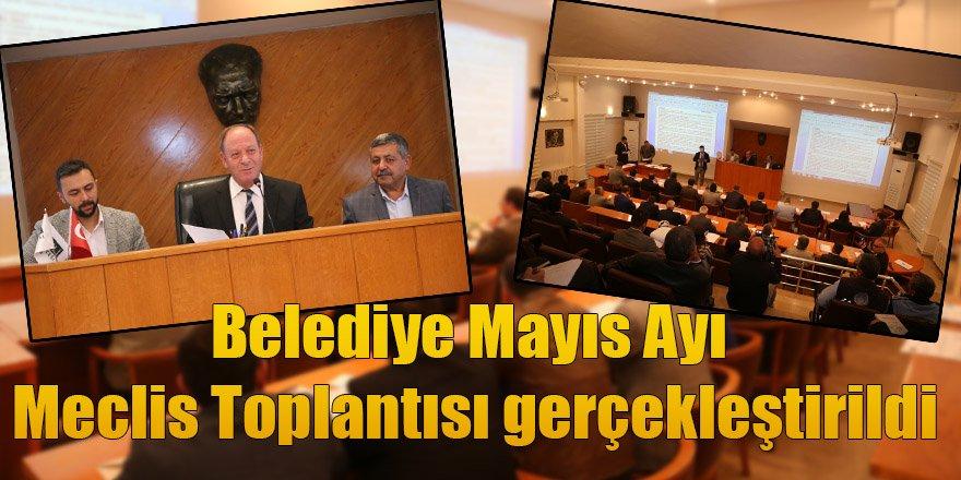 Belediye Mayıs Ayı Meclis Toplantısı'nda Önemli Kararlar Alındı