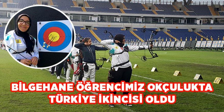 Bilgehane Öğrencimiz Okçulukta Türkiye İkincisi Oldu