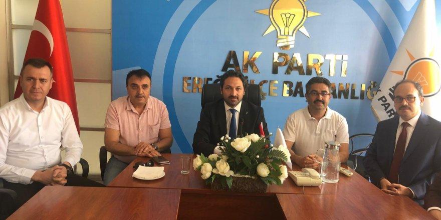 AK Parti'de Bayramlaşma Programı Düzenlendi