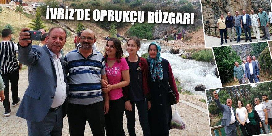 İVRİZ'DE OPRUKÇU RÜZGARI