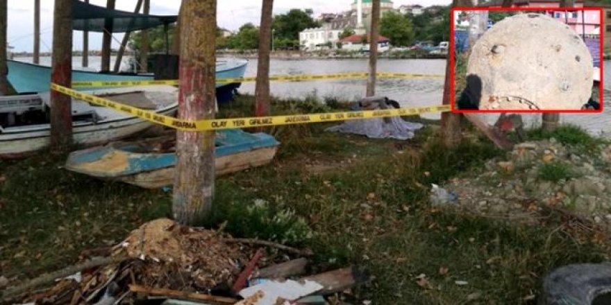 Balıkçıların ağına deniz mayını takıldı