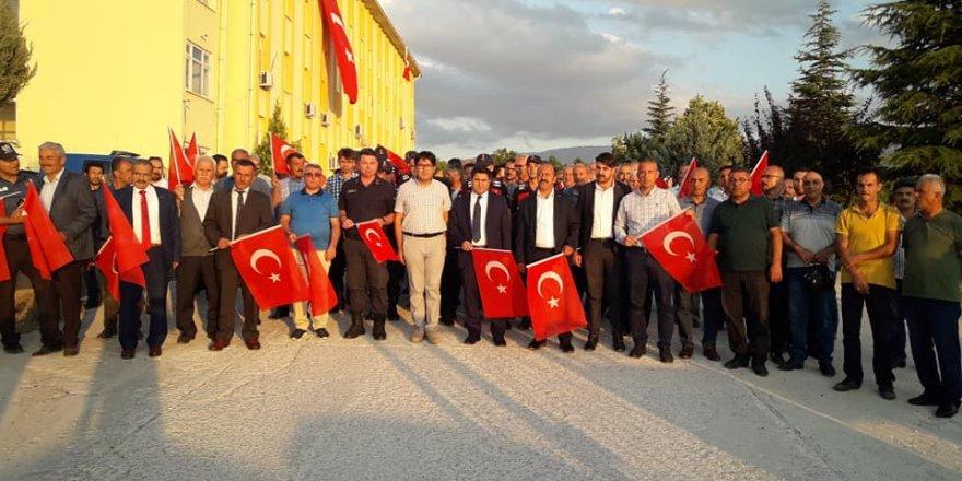 Halkapınar'da 15 Temmuz Etkinliği