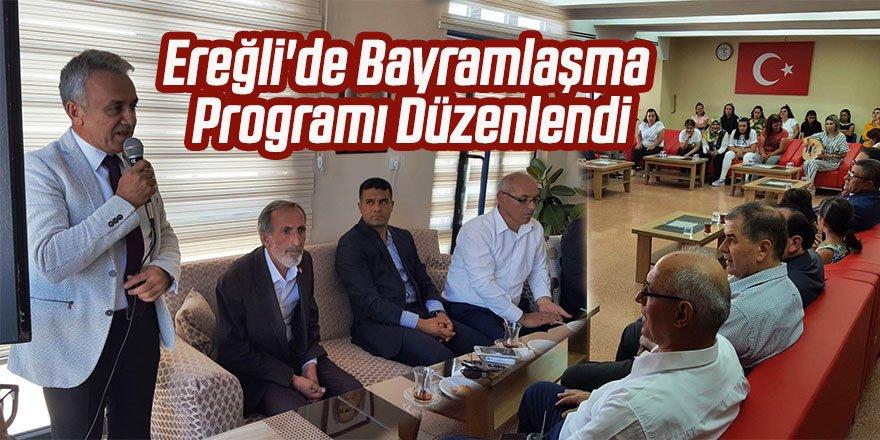 Ereğli'de Bayramlaşma Programı Düzenlendi