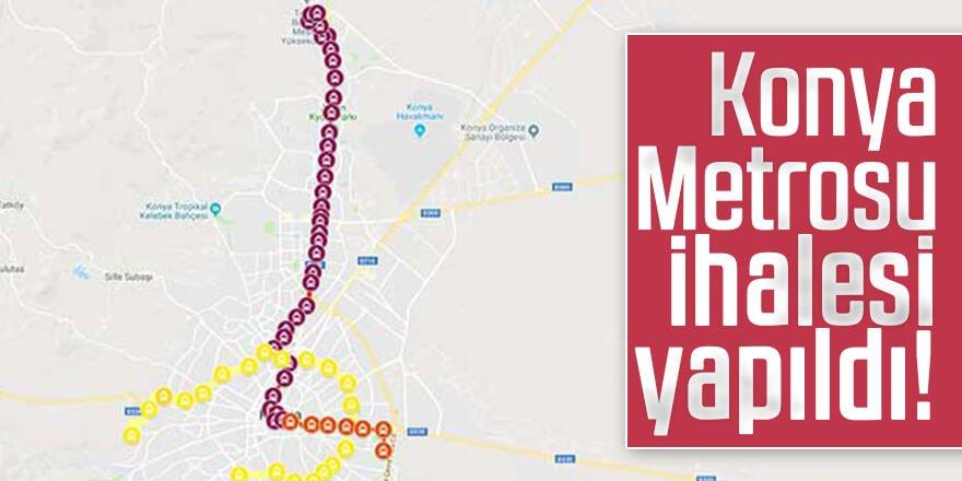 Konya Metrosu ihalesi yapıldı!