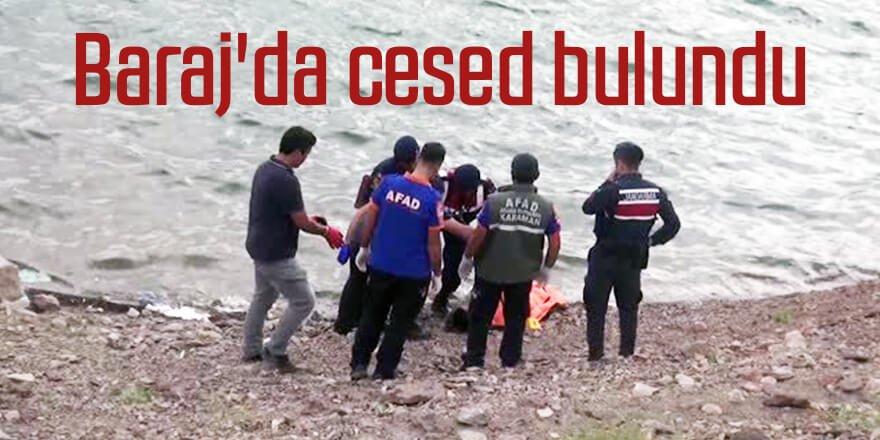 Baraj'da cesed bulundu