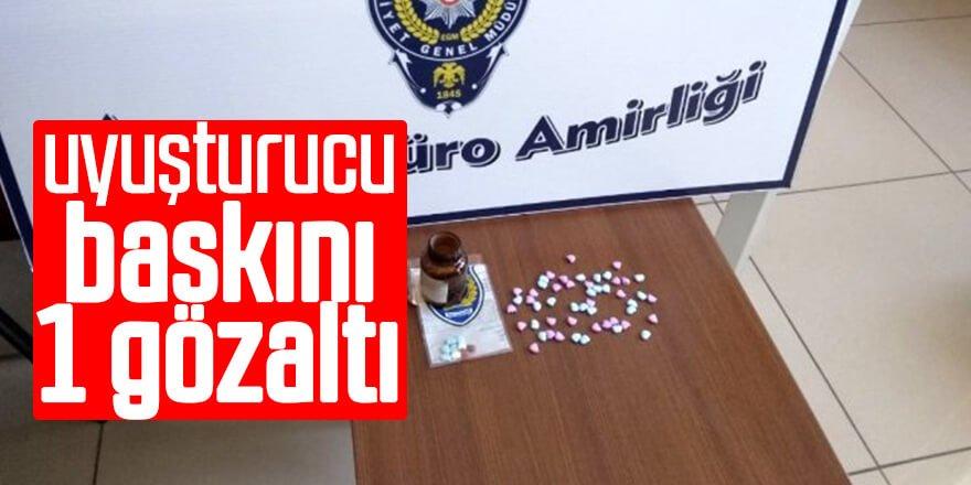 Uyuşturucu Baskını: 1 Gözaltı