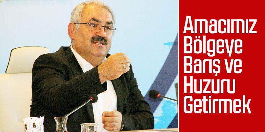 Türk Ordusu Barış İçin Teminattır