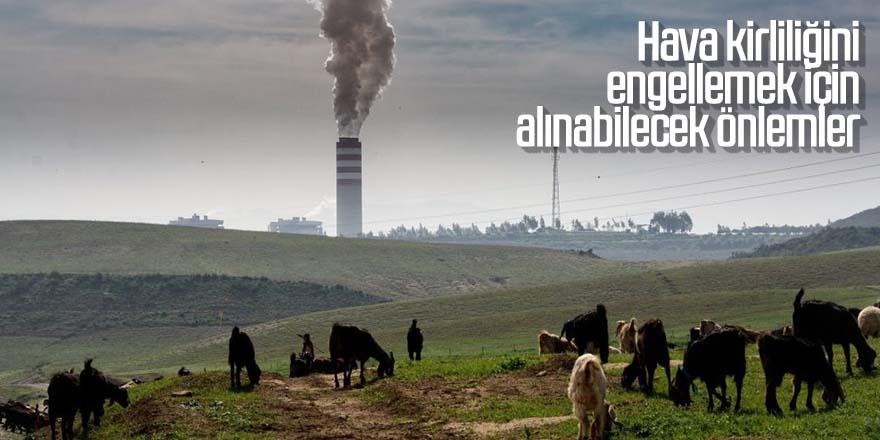 Hava kirliliğini engellemek için alınabilecek önlemler